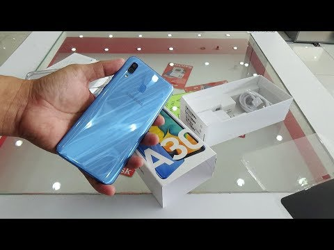 Samsung Galaxy A30 Blue Color