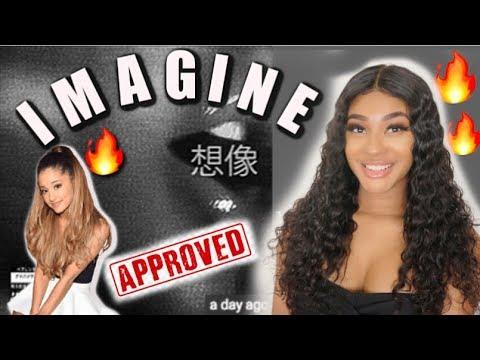 Ariana Grande - imagine (lyric video) | REACTION