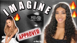 Ariana Grande - imagine (lyric video) | BOB OR FLOP ?? REACTION