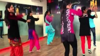 jhanjhar {diljit dosanjh} bhangra dance class ..