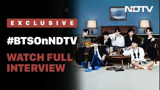 #BTSOnNDTV: K-Pop Sensation BTS On Music, Stardom & More | NDTV EXCLUSIVE | Full Interview