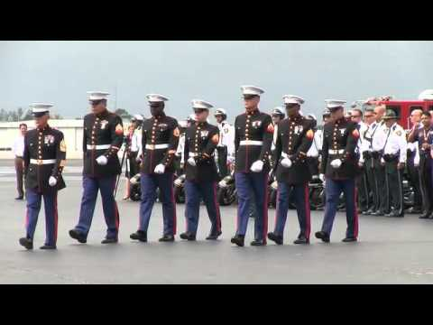 Marine's body returned home