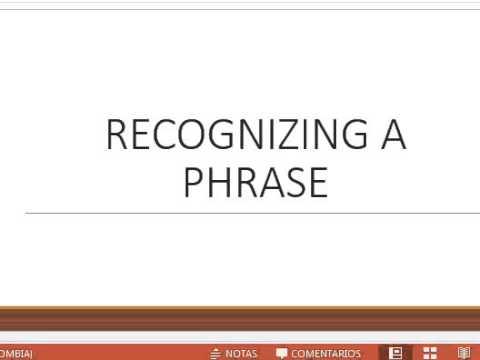 THE PHRASE - Noun phrase - verb Phrase - Prepositional Phrase - Theoretical linguistics