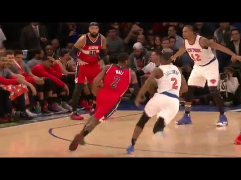 John Wall And Carmelo Anthony Duel At The Garden