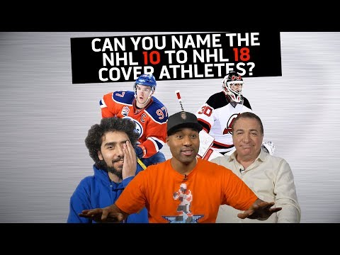 Can You Name the NHL Cover Athletes from NHL 10 to 18?