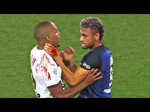 Craziest Football Fights & Angry Moments ft. Neymar, Ibrahimovic, Ronaldo |HD