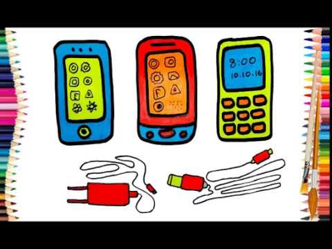 how-to-draw-mobile-phone,-for-beginners;-draw-for-kids,-color-for-children,-drawing-step-by-step