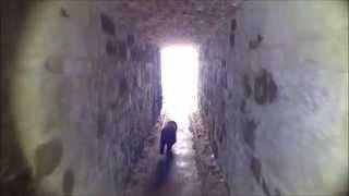 Disused Underground Waste  Tunnel - Cockapoo Dog Walk - Isle Of Wight