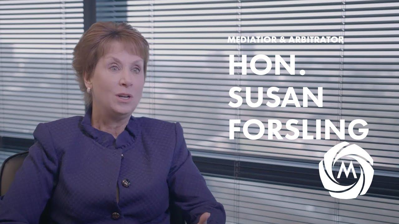 Hon. Susan B. Forsling video