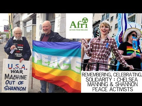 Remembering; Celebrating; Solidarity : Chelsea Manning & Shannon Peace Activists
