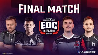 JAXI & WERTY | GAMEAGENTS vs ONETAP | FINALA EDC Romanian Qualifier presented by SUPERBET