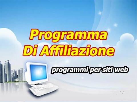 Programma di affiliazione forex