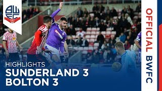 HIGHLIGHTS | Sunderland 3-3 Bolton Wanderers