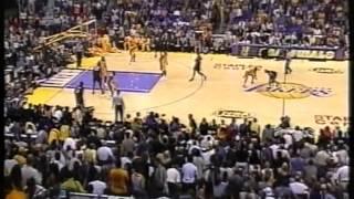 Shaq / Kobe vs Allen Iverson, nba finals 2001 lakers vs 76ers game 2