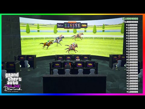 How To Win Horse Track Race Every Time In GTA 5 Online Casino DLC! (GTA 5 Solo Money Glitch)