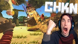SLAYING SOME MONSTERS! | CHKN Multiplayer #3