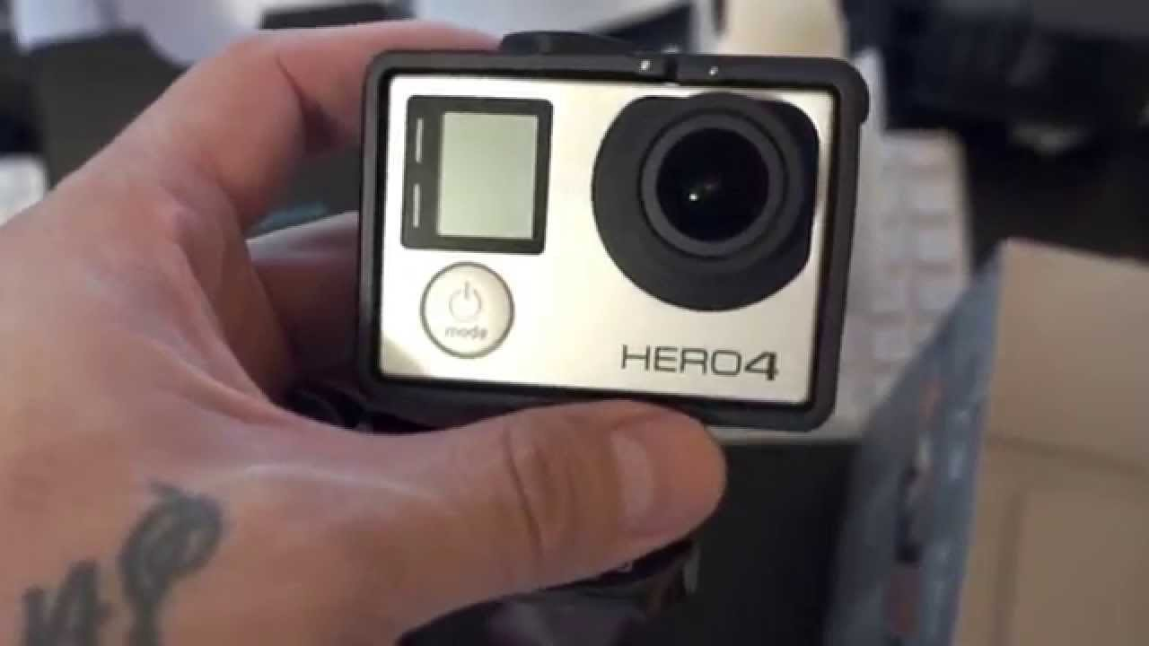 gopro hero 4 silver music edition unboxing youtube