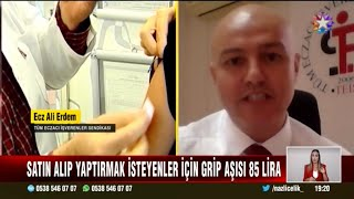 2021-09-21 - TEİS - StarTv AnaHaber - Grip Aşısı Haberi - Ecz Ali Erdem
