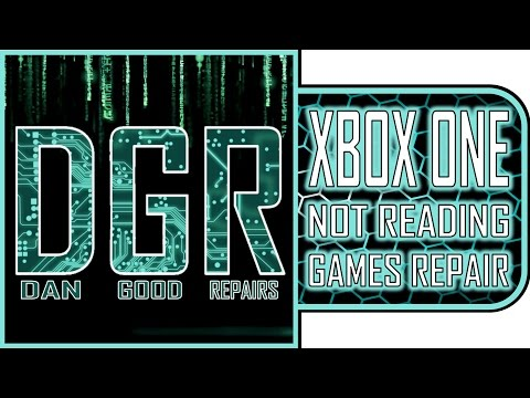 DGR: How to Fix an Xbox One Not Reading Games (Drive/Deck Replacement)