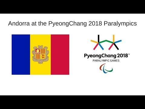 Andorra at the PyeongChang 2018 Winter Paralympics