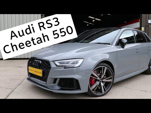 Audi RS3 | Cheetah 550 | CBS Automotive