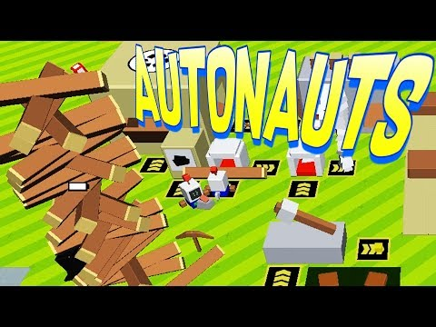 Fully Automatic Lumber Farm and Metal Smelting! - Autonauts Gameplay