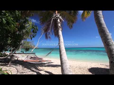 """Islands of Paradise"" Fiji 1 HR (Nature Sounds) Tropical Relaxation Video 1080p"