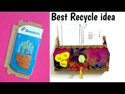 Amazing Idea from Waste material #Bestoutofwaste craft idea from waste material #wastematerial reuse