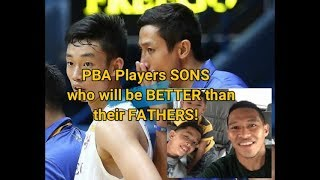 PBA PLAYER SONS WHO WILL SURPASS THE GREATNESS OF THEIR FATHERS