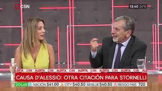 Causa D' Alessio: Otra citación para Stornelli