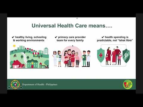 PCM ORIENTATION ON UNIVERSAL HEALTH CARE ACT RA 11223 PART 1
