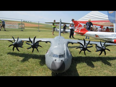 R/C Army Airbus A400M Hannes.H 2015 Germany Airlinermeeting
