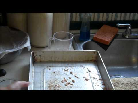 How to Make Bran Flakes from Wheat Part III