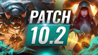Best Champions TIER List - League of Legends Patch 10.2