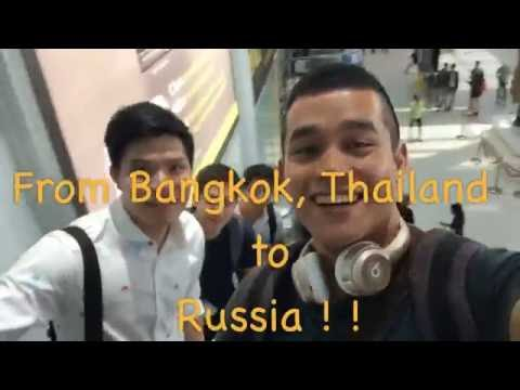 Bangkok(Thailand) to  Russia!!  Murmansk - Saint Petersburg - Moscow  with friends