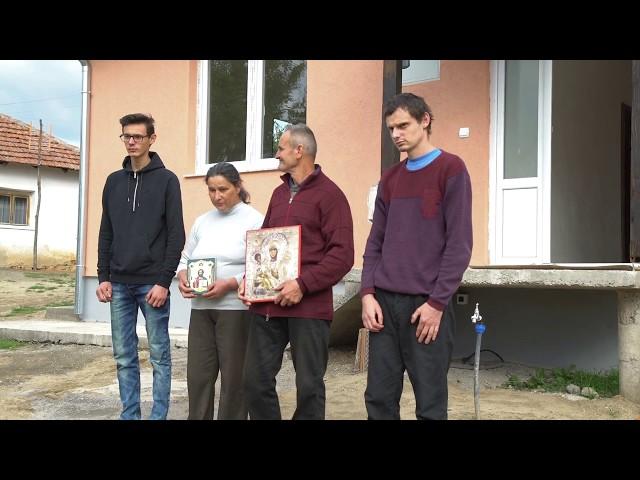 Useljenje porodice Stojanović u novu kuću - Srbi za Srbe