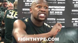 MAYWEATHER ON MALIGNAGGI QUITTING MCGREGOR CAMP; EXPLAINS WHY THEY SHOULD HAVE KEPT HIM