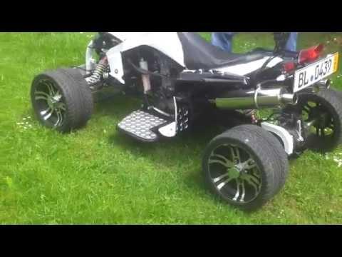 Jinling Quad 250 ccm in Weiß Bisschen  Fahren