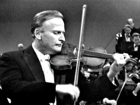 Menuhin does the 3rd movement of Beethoven's Violin Concerto
