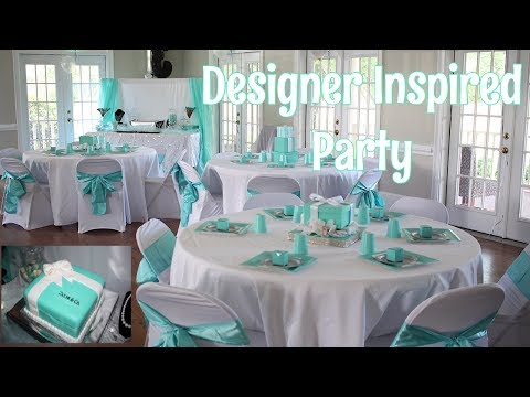 Designer Themed Party -13th Birthday