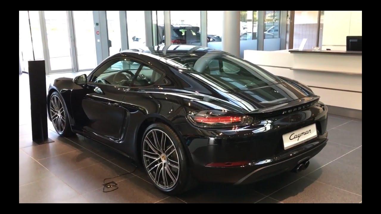 Porsche 718 Cayman Black Walkaround YouTube