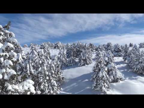 Erdemli'linin Kar Sevinci