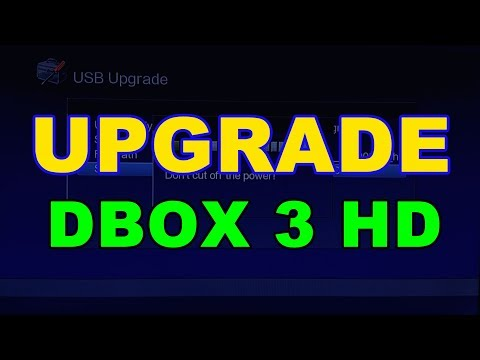 How To Upgrade Firmware DBox 3 HD Receiver