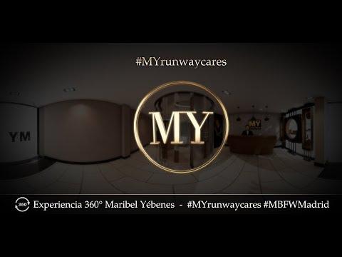 Maribel Yébenes 360 video - Madrid Fashion Week 2017 - #MYrunwaycare
