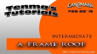 Eq Landmark - Int - A-frame Roof