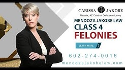 Class 4 Felonies, Are first-time felony offenders eligible for probation? 602-274-0016