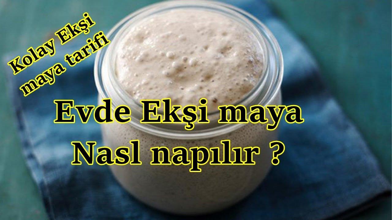 Ekşi Maya Tarifi