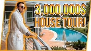 $3,000,000 HOUSE TOUR!