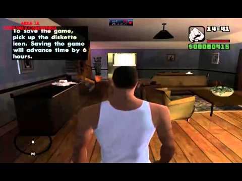 Nostalji : Grand Theft Auto : San Andreas - Bölüm 1 - Başlangıç