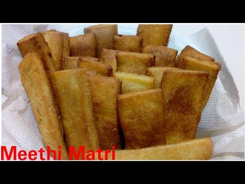 Meethi matri recipe by Kitchen with Rehana